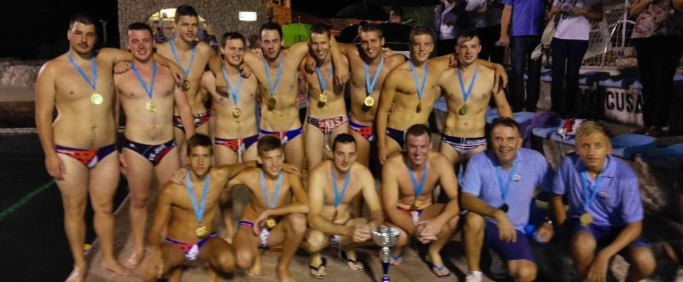 Prvaci II vaterpolske lige 2015